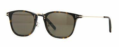 Tom Ford Beau TF672 672 Sunglasses Dark Havana Gold 52E Authentic 51mm