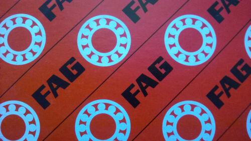 6208-2RS FAG Ball Bearing  40x80x18 mm 6208-2RSR