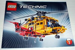 Lego-Technic-Helicopter-9396-inkl-OBA-ohne-Box