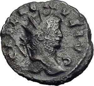 Gallienus-Valerian-I-son-265AD-Authentic-Rare-Ancient-Roman-Coin-Mars-i65121