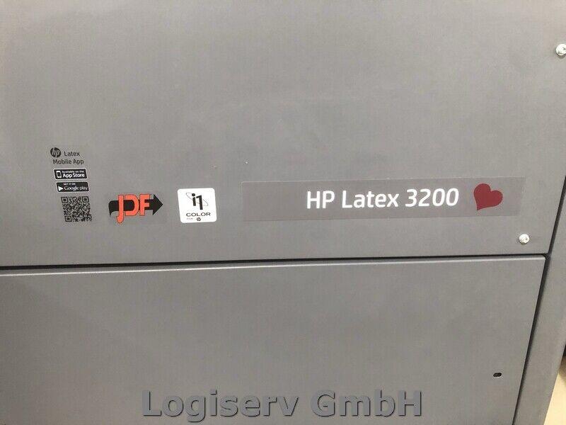 Bild 2 - HP Latex 3200 Plotter Druckmaschine Großraumdrucker Industriedrucker Latex Druck