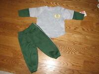 Baby Oregon Ducks Jog Sweatshirt Sweats Pants Suit Set Size 18m 18 Mo Boys