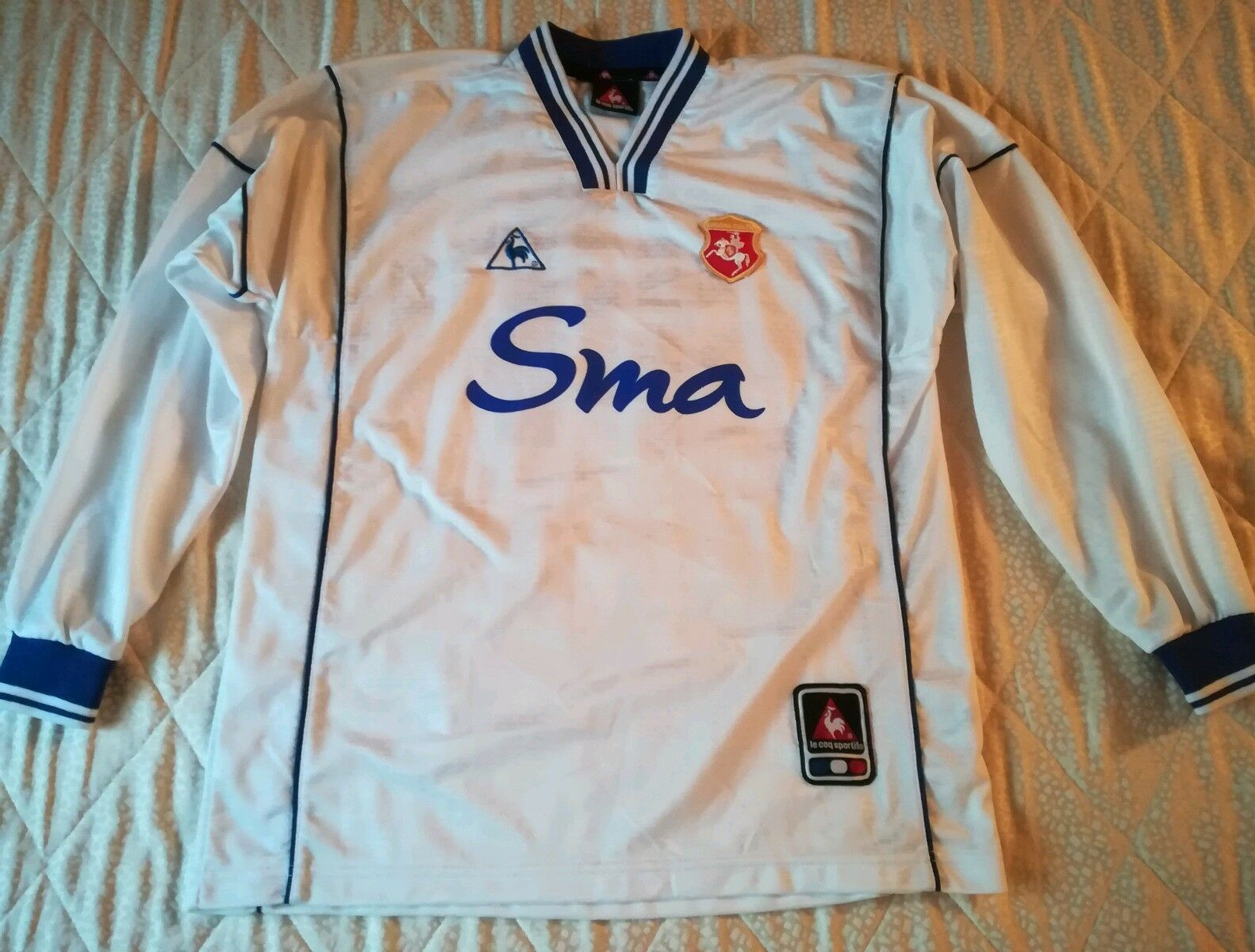 MAGLIA SHIRT CAMISETA VINTAGE OFFICIAL ANCONA FOOTBALL calcio NO match worn XS