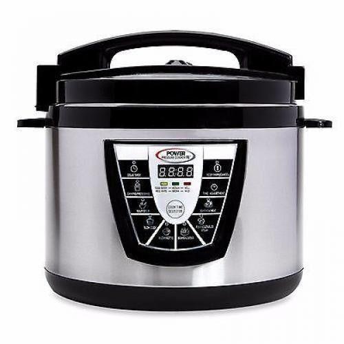 Power Pressure Slow Cooker XL Pot Kitchen Appliances Cooker Steamer  10 QT New