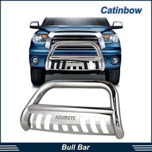 For-2016-2018-TOYOTA-Tacoma-3-034-BULL-BAR-W-SKID-PLATE-BRUSH-PUSH-GRILLE-GUARD