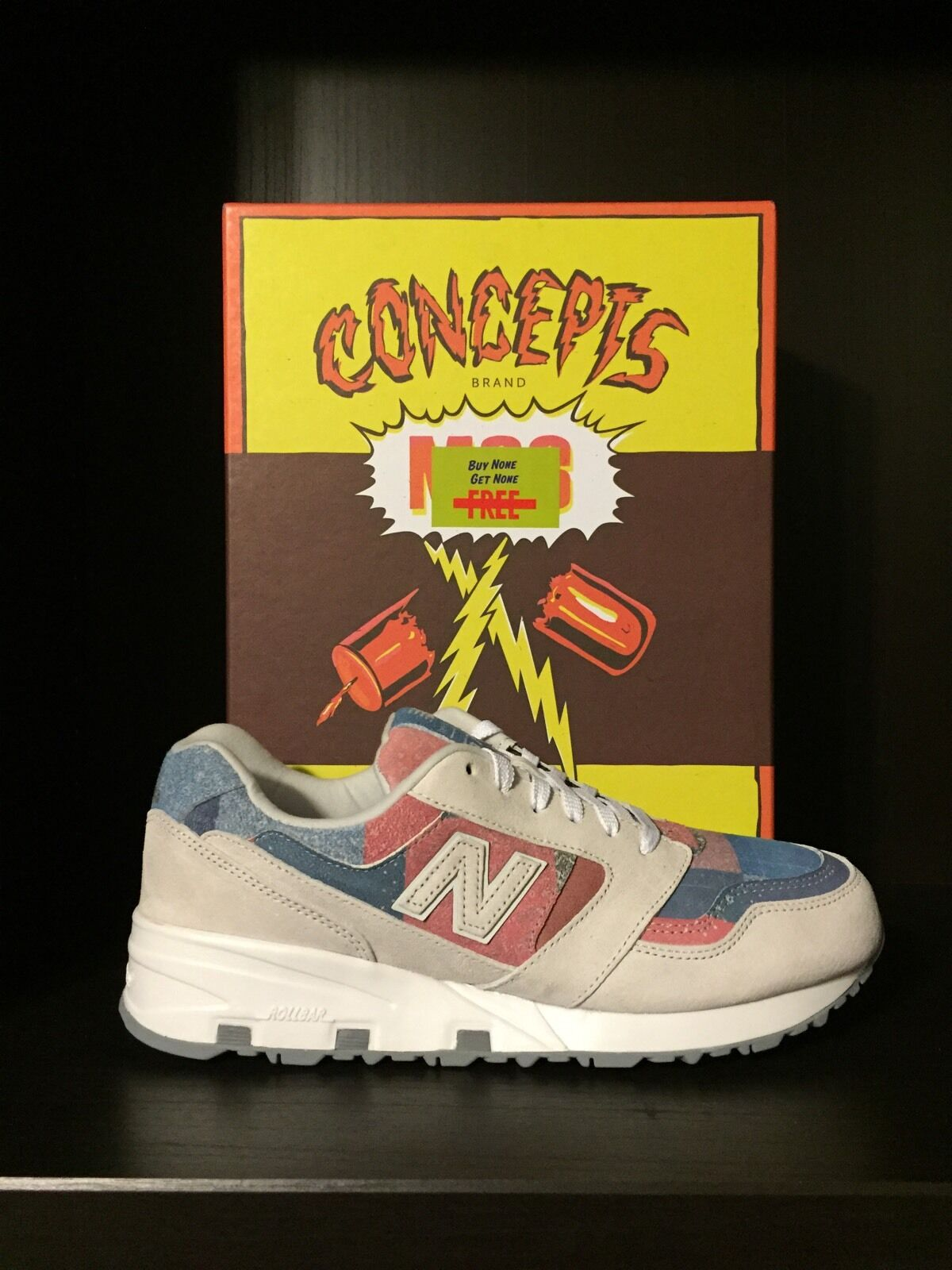 "New Balance 575 X Concepts ""M80"" - Size 11.5"