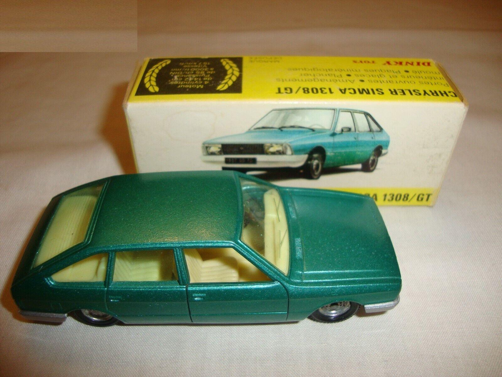 SPANISH DINKY 011542 CHRYSLER 1308 GT - NR MINT in original BOX