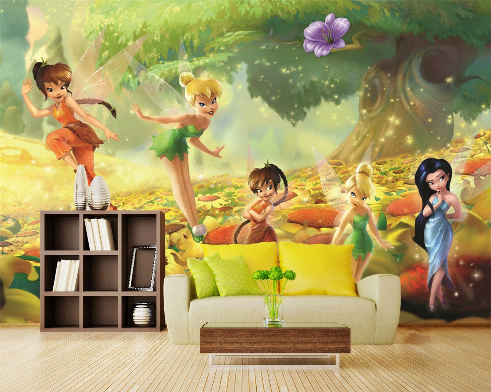 3D Magie 4532 Fototapeten Wandbild Fototapete Bild Tapete Familie Kinder DE