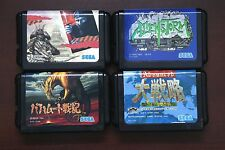 Sega Mega Drive Alienstorm Adv War Bahamut Senki Ninja Burai JP game US Seller
