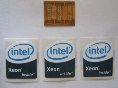 3 LGA 771 to 775 Adapters for Xeon Mod with 3 /'Intel Xeon Inside/' stickers