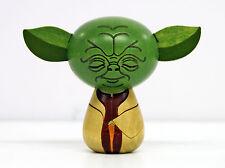 Usaburo Kokeshi Japanese Wooden Doll 15-3 Star Wars Yoda