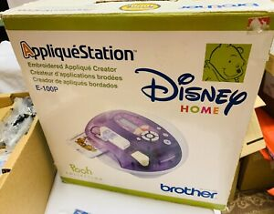 Disney-Home-Pooh-Collection-Brother-Applique-Station-Embroidery-Machine-E-100P