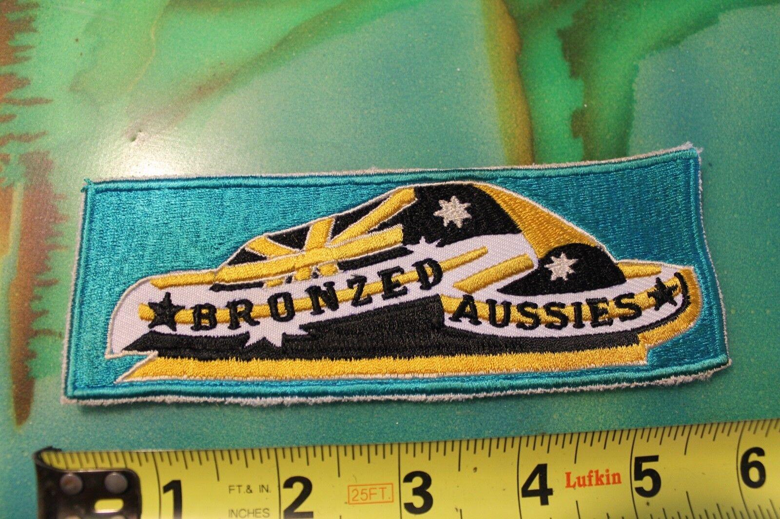 Bronceado australianos Tablas De Surf Australia AUS Original Vintage Década de 1970 Surf Parche