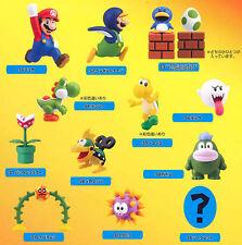 Super Mario Choco Egg Mario Pink Yoshi Koopa Boo Mechakoopa Figure Set 13 Furuta