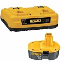 Dewalt Dc9320bp 7.2-to-18-volt Nicd/nimh/li-ion 1-hour Dual Port Charger And Xrp on sale