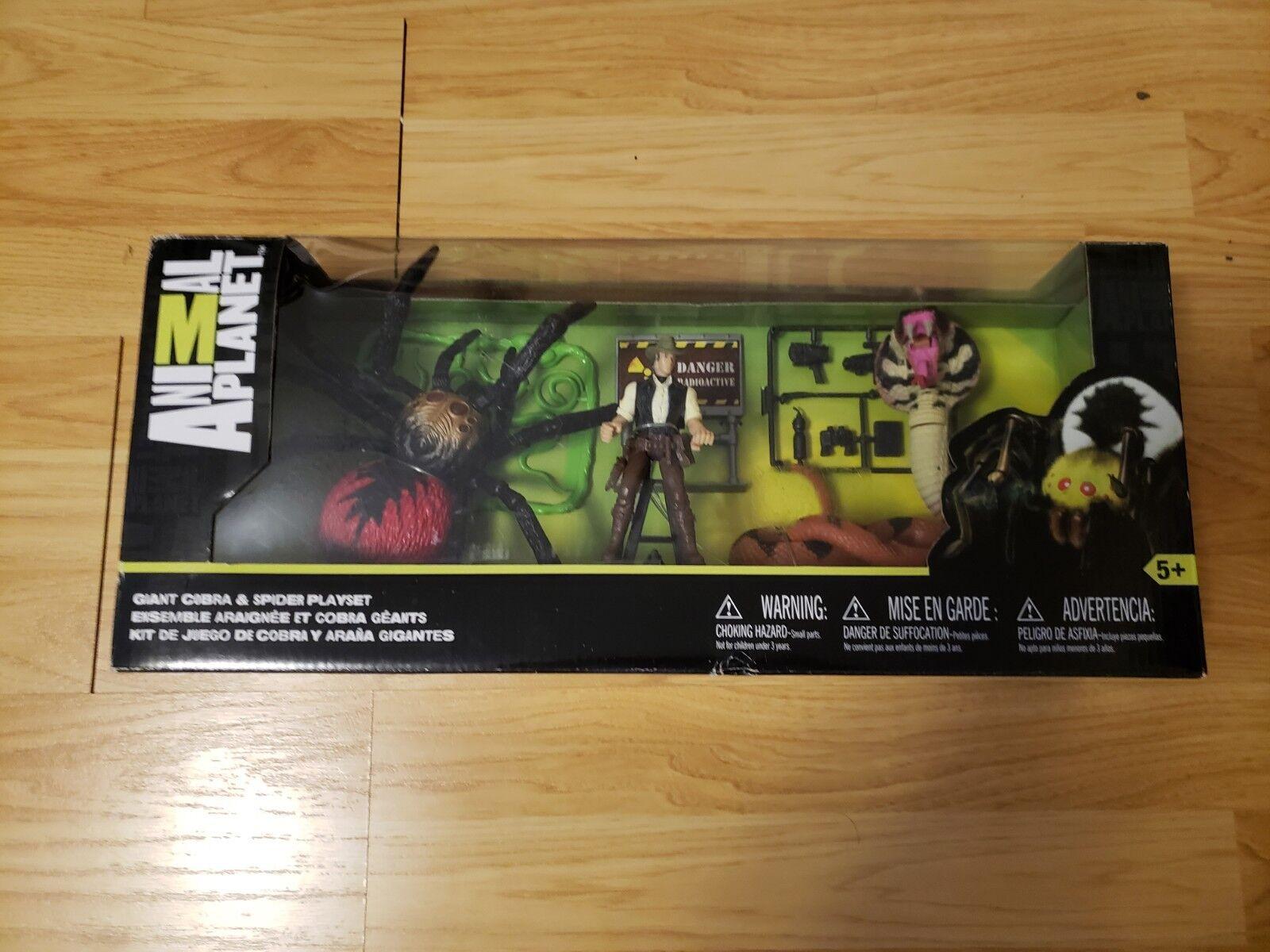 djur plant Giant Cobra och Spider spelaboy Exklusiva Leksaker R Us