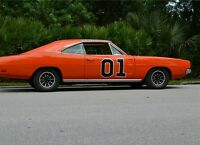 Dukes Of Hazzard General Lee Door Decal Sticker 01 Decal Kit