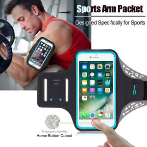 separation shoes d55c8 3a1cf Details about Sports GYM Running Exercise Armband Case w/ Key Slot For  Apple iPhone 8 / 7 Plus