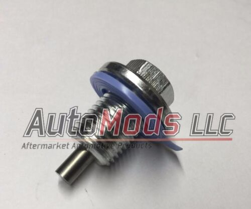 Magnetic Oil Pan Drain Plug bolt and gasket Lincoln Continental Mark VII 5.0