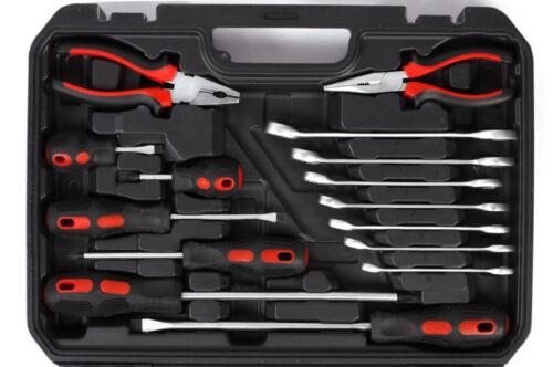 """3//8/"""" stable Outil valise Oldtimer 48 pcs outil set armes encadré 1//2/"""""""
