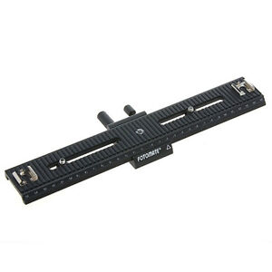 Sliding-Rail-Macro-Focus-Plate-for-Camera-Photo-DSLR-Flash-Slider-Tripod-Mount