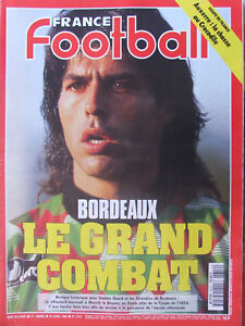 France-Football-N-2612-30-avril-1996-Bordeaux-Huard-Rohr-Coupe-de-France