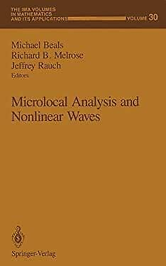 Microlocal Analysis and Nonlinear Waves Hardcover Michael Beals