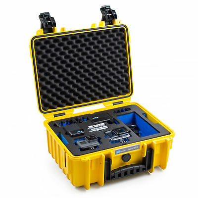 B&W Outdoor Case 3000 GoPro HERO5+6 Edition yellow