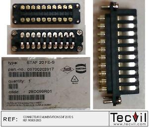 Harting 20121512305 3P Jack Plug #1