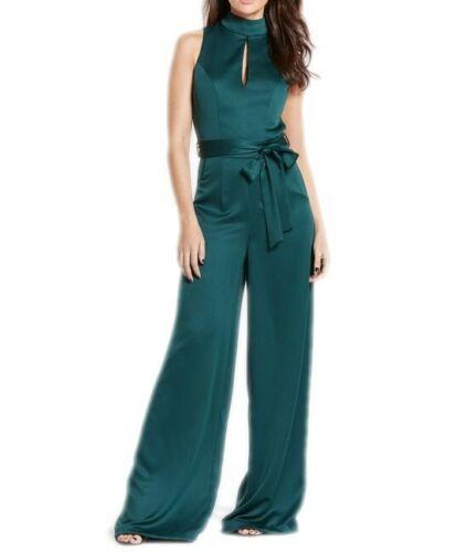 NUOVA linea donna designer Michelle Keegan Con Cintura trousersuit Verdi Taglia 8 10 12 14 16