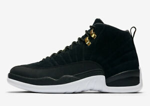 the air jordan 12 negro con blanco