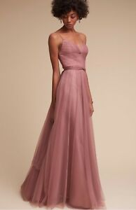 f261d82275a NEW  260 BHLDN Watters Tinsley Bridesmaids Dress Size 10 Rose Quartz ...