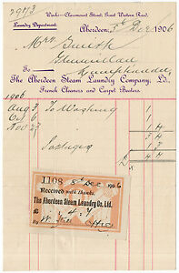 I-B-Edward-VII-Revenue-Receipt-Note-Aberdeen-Steam-Laundry