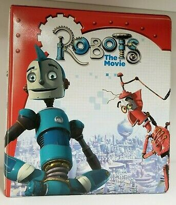 Non-sport Trading Cards Latest Collection Of Robots The Movie Collectors Padded 3-ring Trading Card Binder Album Limpid In Sight Card Albums & Pages