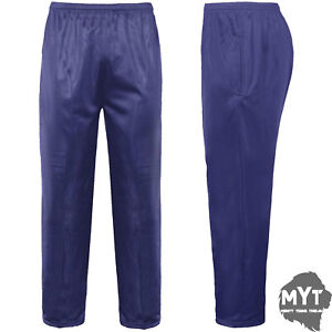 New-Mens-Tracksuit-Bottoms-Silky-Joggers-Jogging-Gym-Sports-Pants-Trousers
