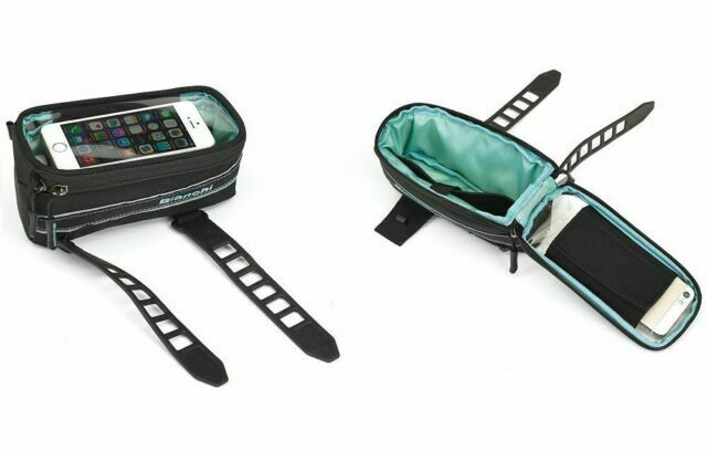 BIANCHI C9455036 Borsa Bici Road Bike Bicycle Cycling Frame Bag Phone Holder