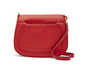New-Marc-Jacobs-Empire-City-Leather-Messenger-Crossbody-Bag-NWT-Tulip