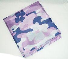 """Dance Scarf, Ladies, 24"""" x 24"""",  Purple Floral Camo"""