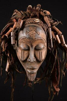 15095 African Old Chokwe Mask / Mask Dr Congo | eBay