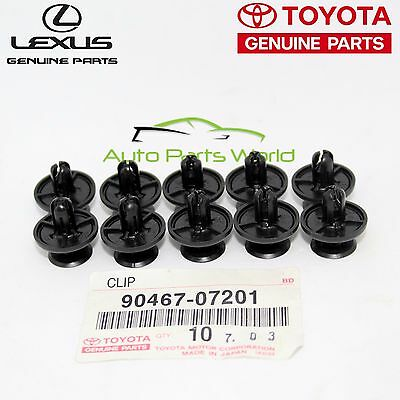 100x FOR LEXUS TOYOTA ENGINE UNDER COVER RETAINER 90467-07201