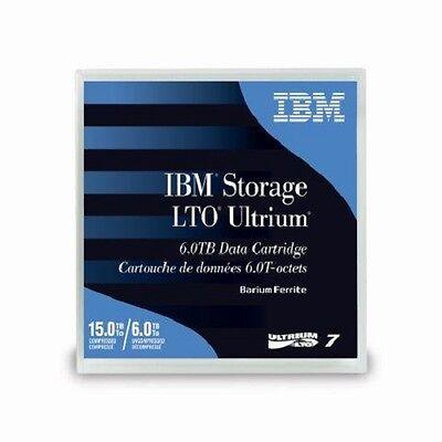 IBM 38L7302 LTO7 Blank Media Tape Data Cartridge 15TB Storage Capacity NEW