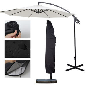 Image Is Loading Waterproof Patio Umbrella Cover Outdoor  Canopy Protect Carry