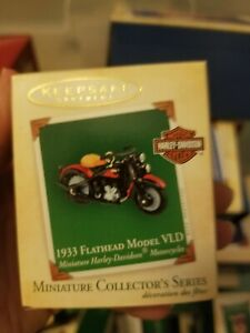 2004 Hallmark Harley-Davidson 1933 Flathead Model VLD ...