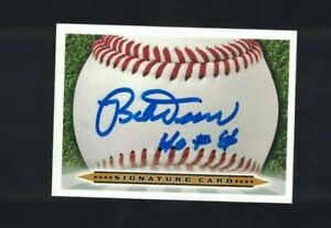 Bobby Doerr Boston Red Sox HOF Signed Custom Signature Card W/OUR COA