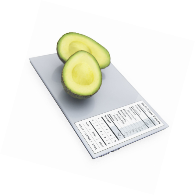 Greater Goods Nourish Digital Kitchen Food Scale and Portions Nutritional
