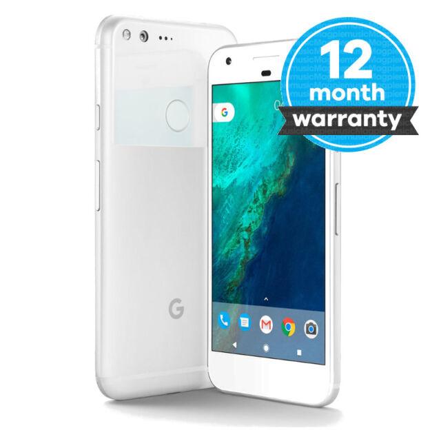 Google Pixel XL - 128GB - Very Silver (Unlocked) Smartphone Very Good Condition