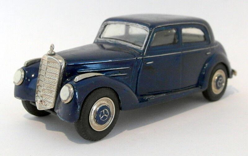 Asistente de estaño Danhausen escala 1 43 De Metal blancoo MT19B Mercedes Benz 220 Limo 1951 55