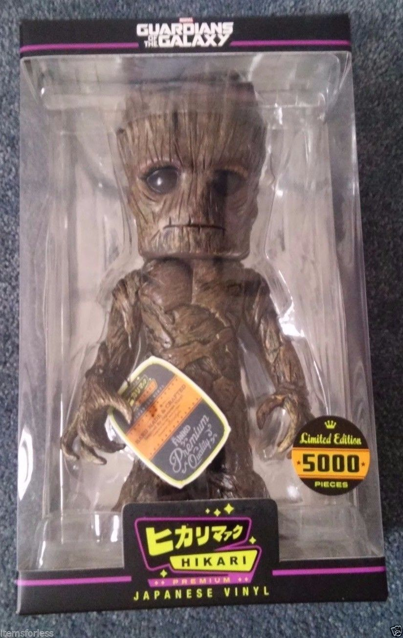 Groot Guardians of the Galaxy Hikari Japanese Funko NEW