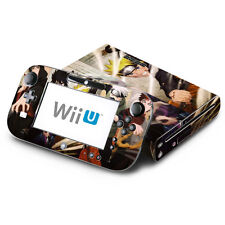 Skin Decal Cover for Nintendo Wii U Console & GamePad - Naruto Shippuden 1