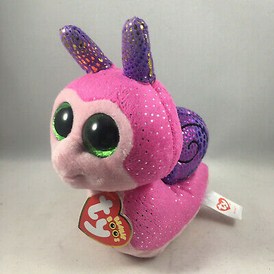 US SELLER Brand New Ty Beanie Boo SCOOTER the snail New with Tags